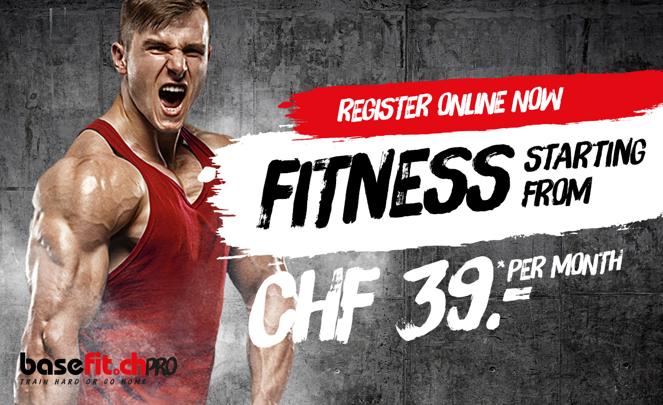 Monthly fitness subscription from CHF 39.00 in Oerlikon