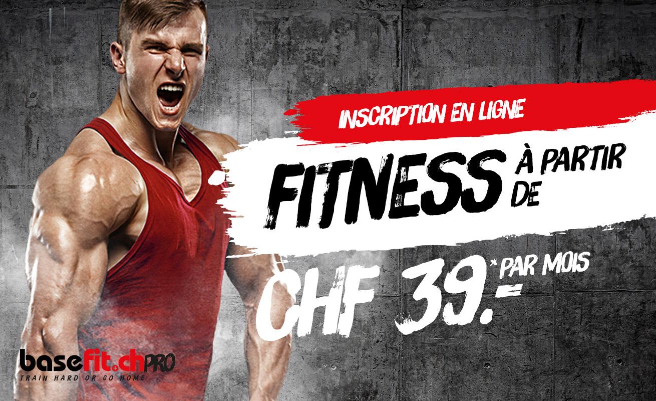 Abonnement Fitness CHF 39,00 à Oerlikon