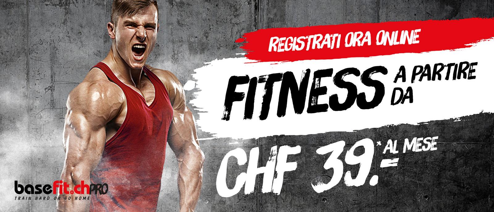 Abbonamento mensile fitness da CHF 39,00 a Oerlikon