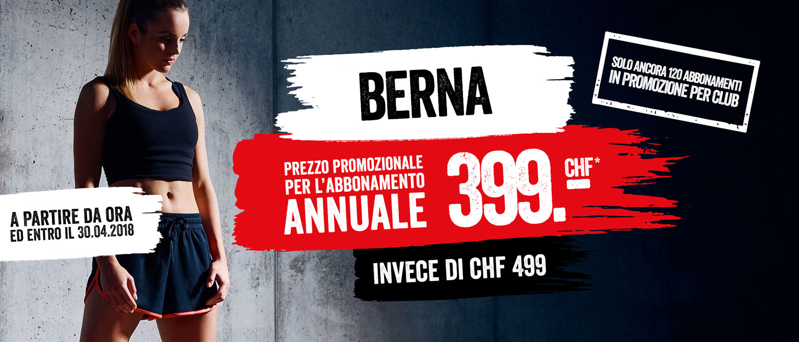 Abbonamento annuale CHF 399.- Berna