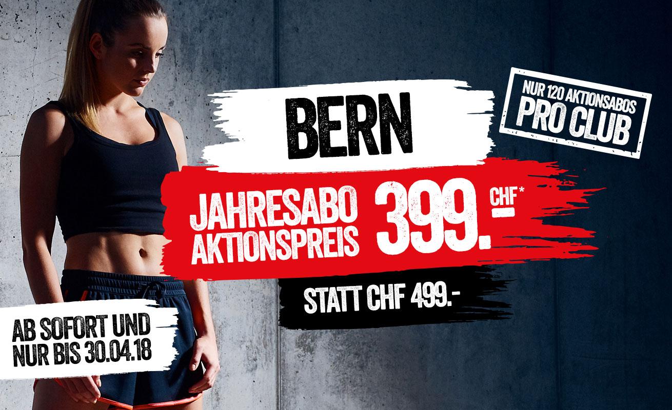 Bern Jahresabo CHF 399.-