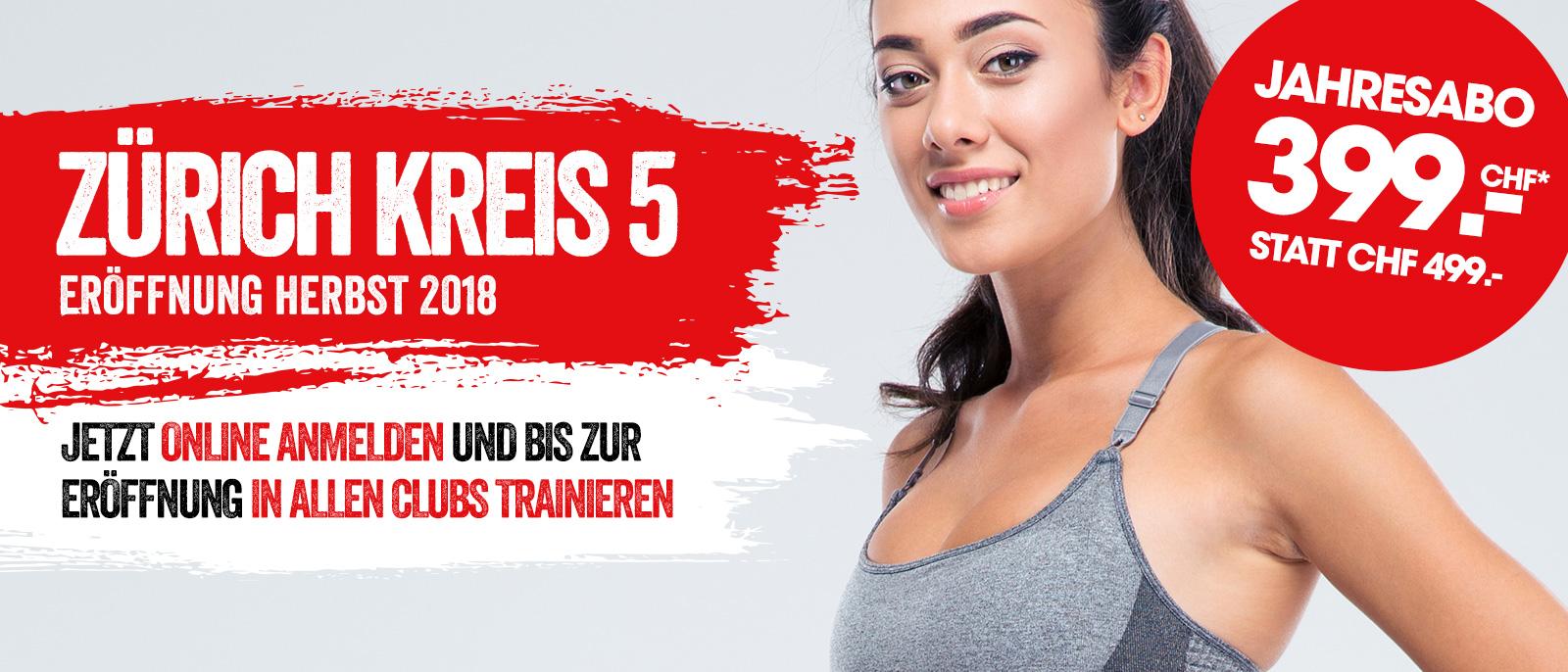 Neueröffnung Zürich Kreis 5