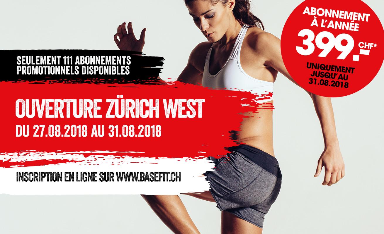 Nouvelle ouverture en août 2018 à Zuerich West