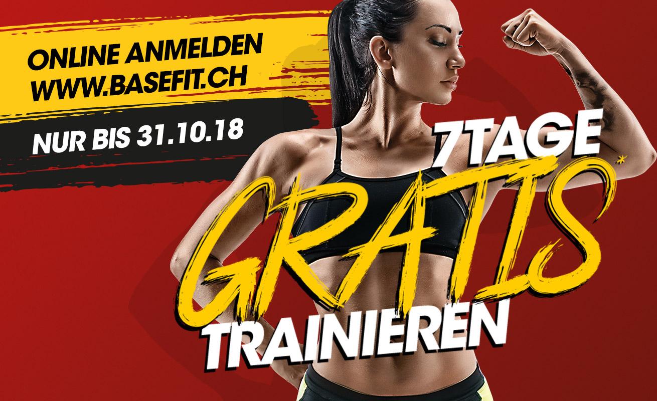 7 Tage gratis trainieren