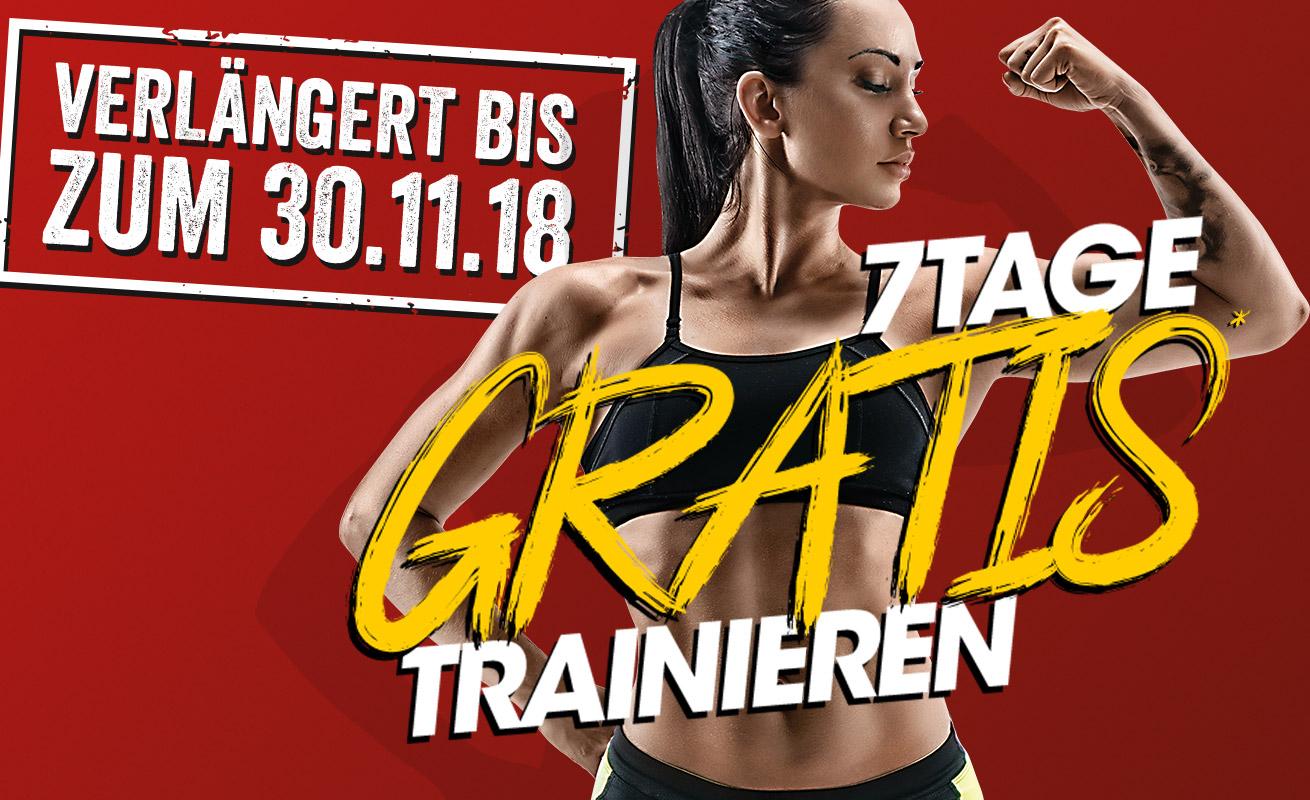 *VERLÄNGERT* 7 Tage gratis trainieren