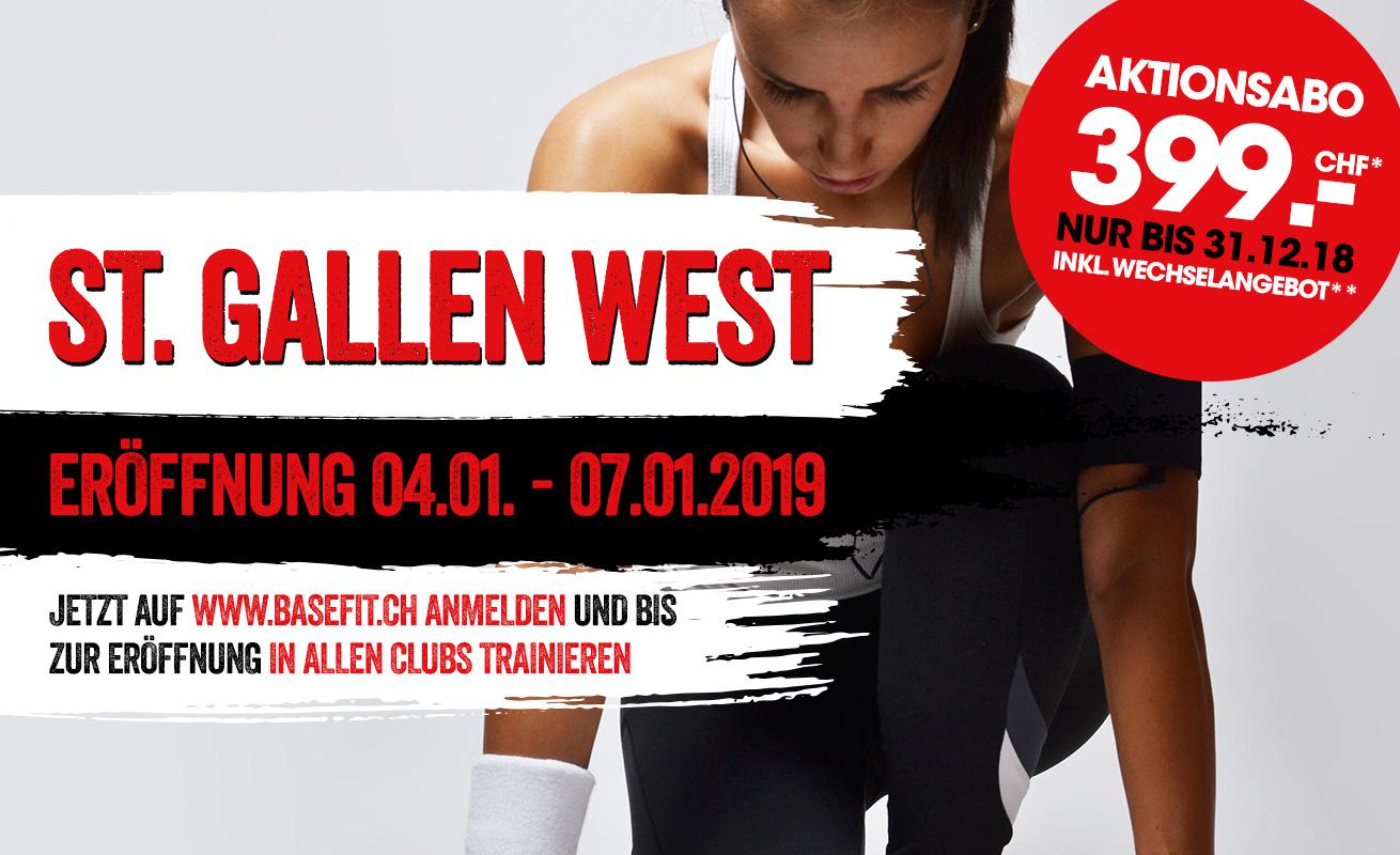 St. Gallen West Dezember