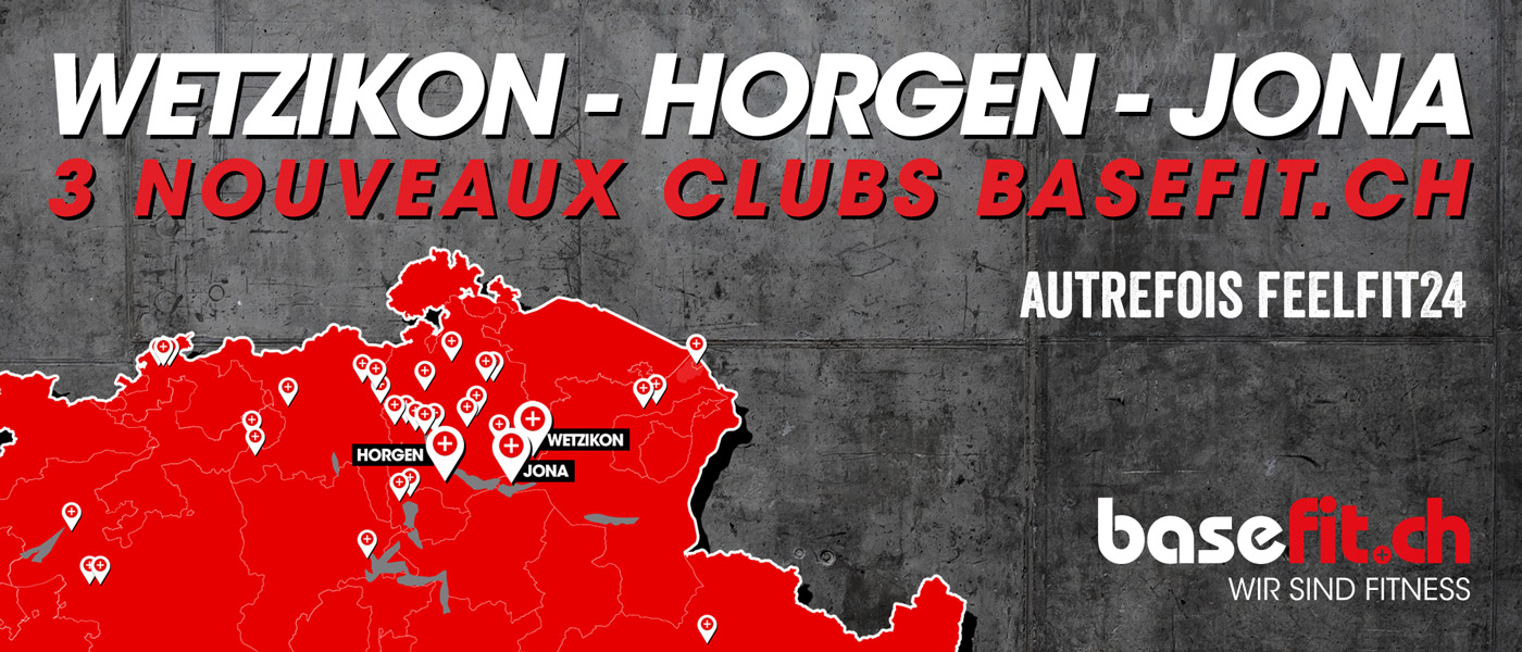 3 neue basefit.ch Clubs