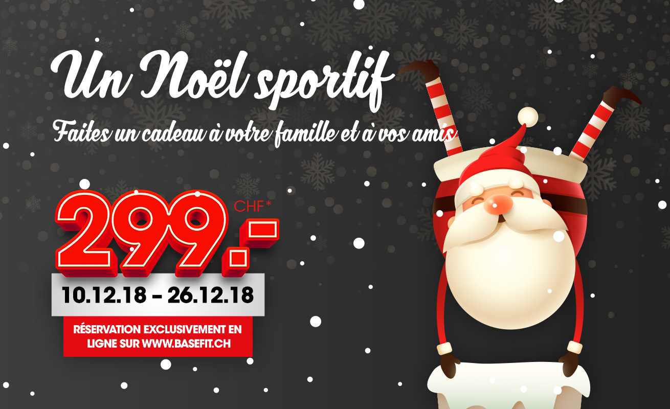WEIHNACHTS-FITNESS-ABO 299.-