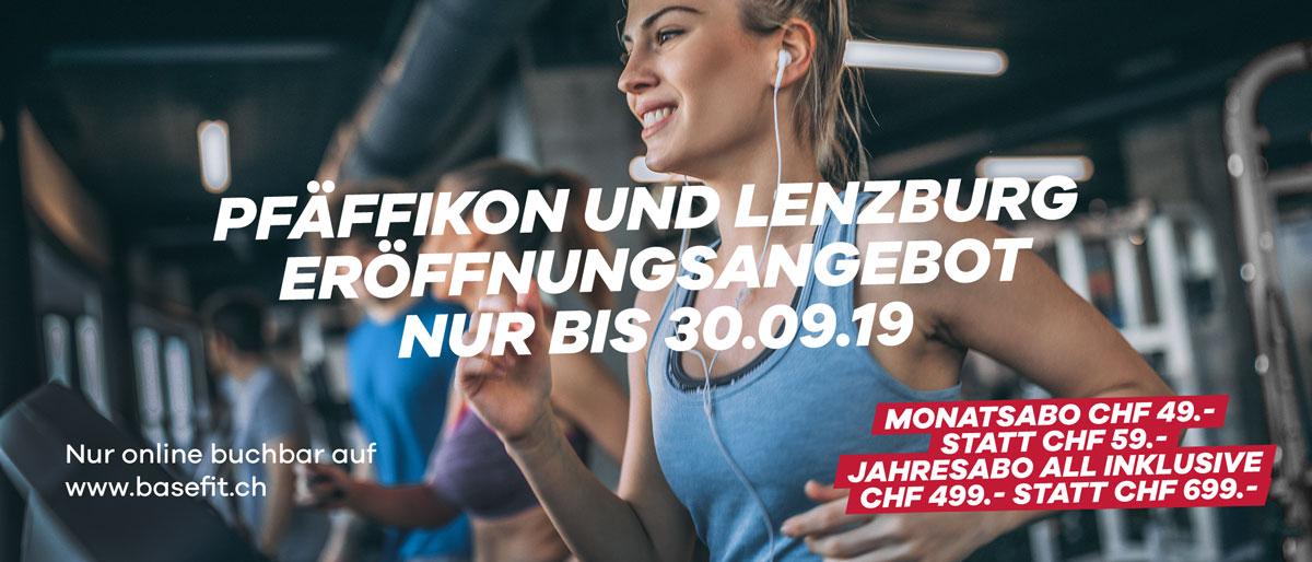 Eröffnung Lenzburg Pfäffikon
