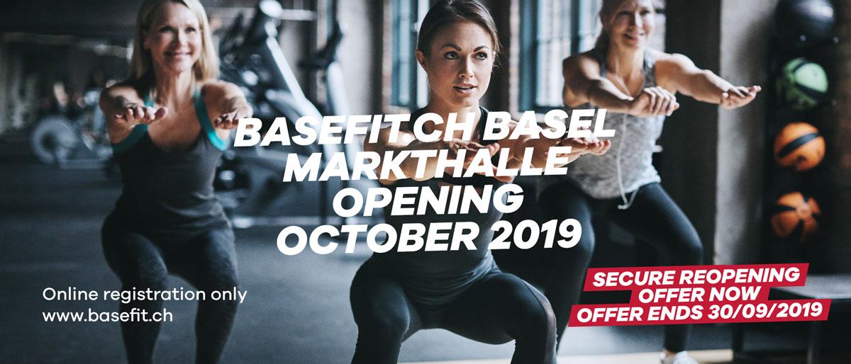Eröffnung Basel Markthalle