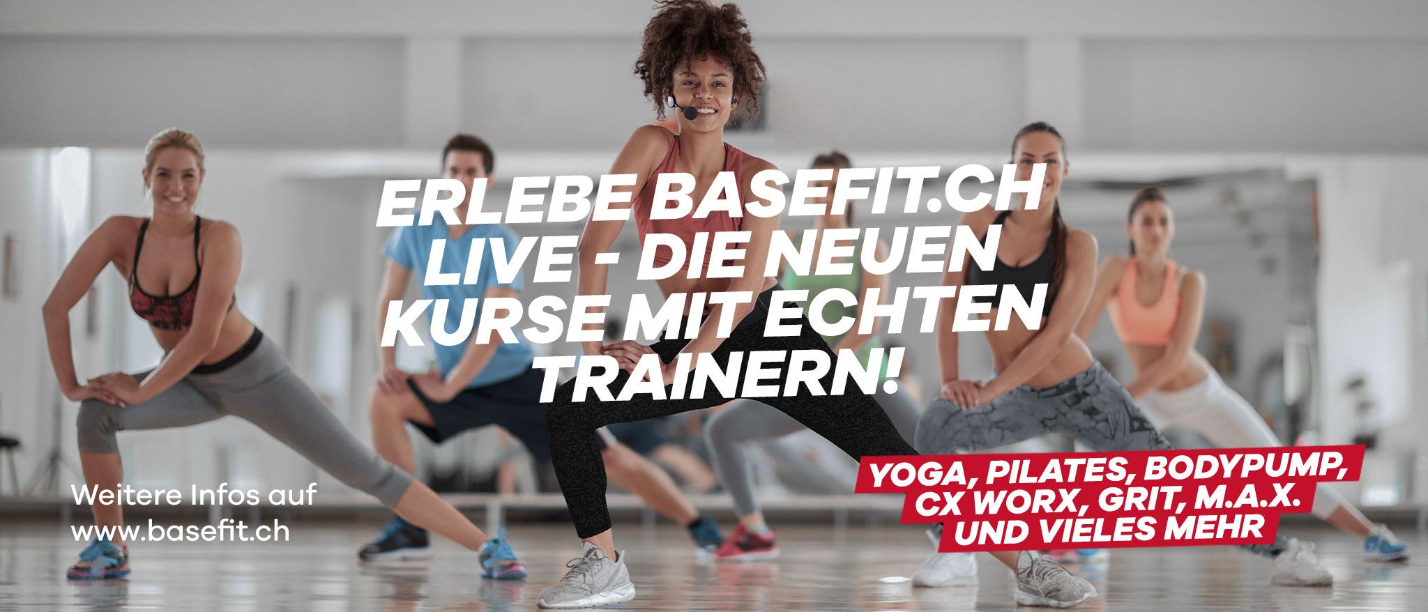 Group Fitness Live Kurse