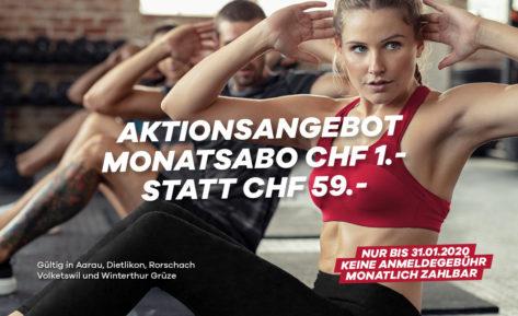 CHF 1.- Aktion