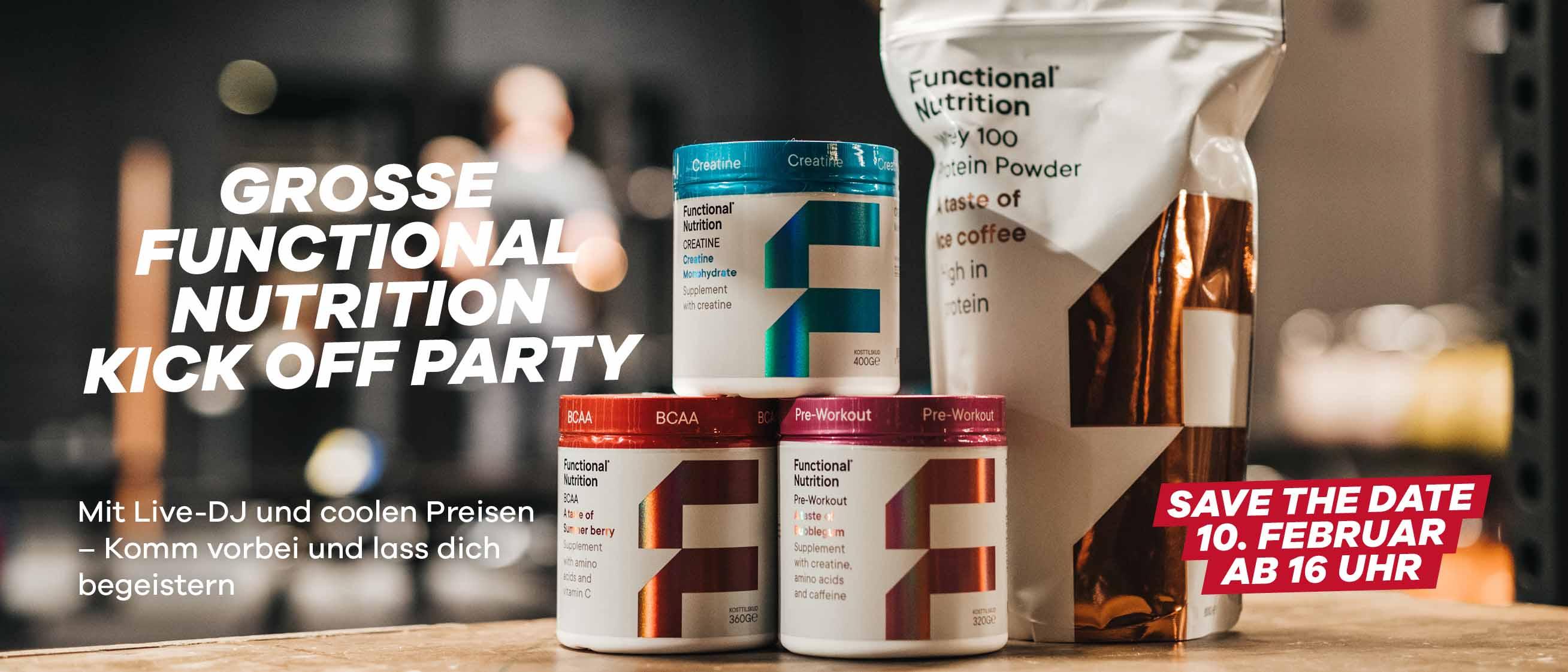 Ab 10. Februar 2020: Functional Nutrition