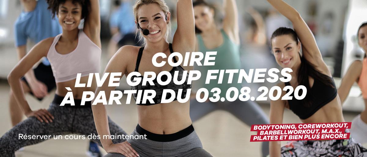 Group Fitness Live Chur