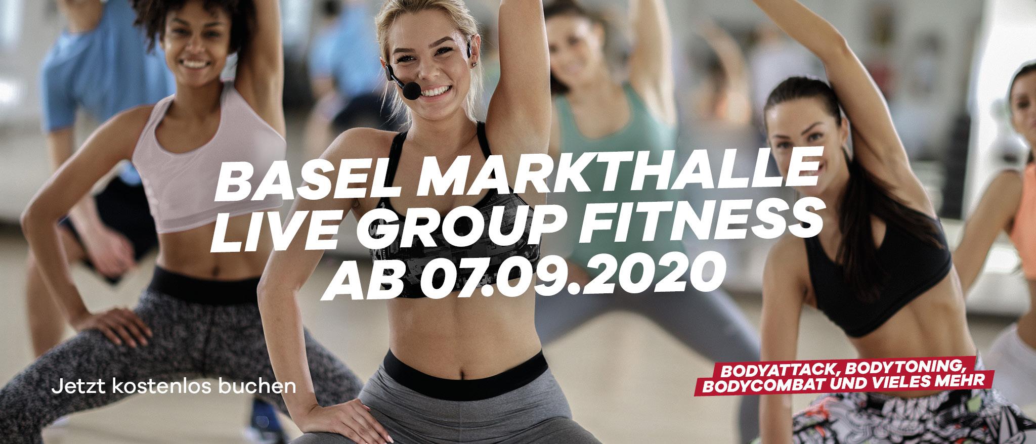 Group Fitness Live Basel Markthalle