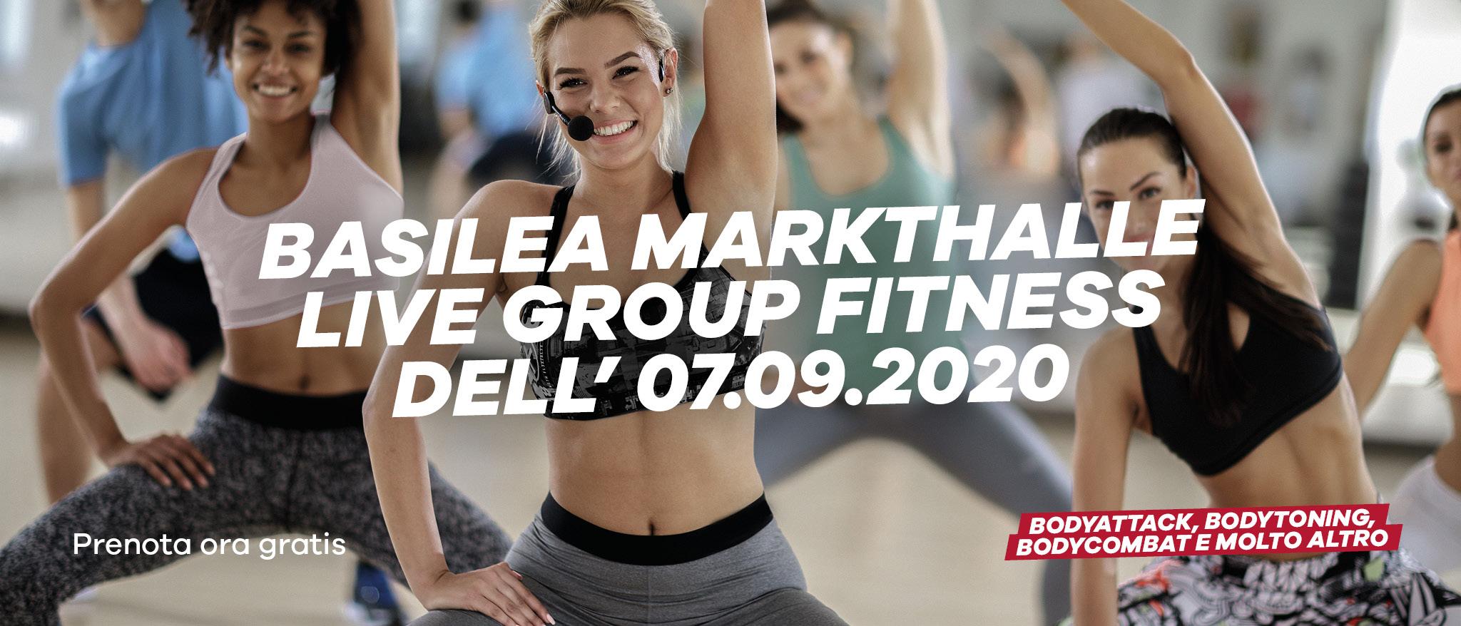 Live Group Fitness Basel Markthalle