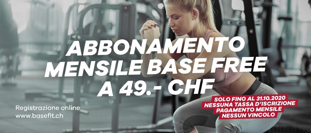 Base Free ottobre 49CHF