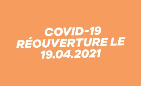 Coronavirus: fermeture du studio